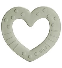 Bibs Teether - Heart - Sage