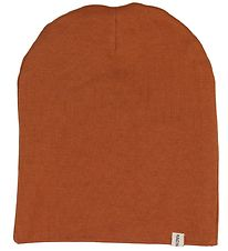 Racing Kids Beanie - Double Layer - Burnt Orange