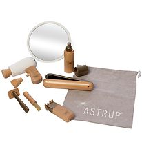 By ASTRUP Hairdressing Set - 9 Parts - Wood