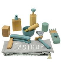 By ASTRUP Shaving Set - 8 Parts - Wood