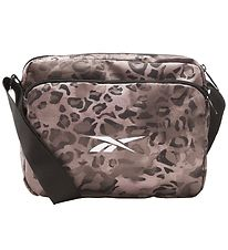 Reebok Shoulder Bag - Brown Leopard Print