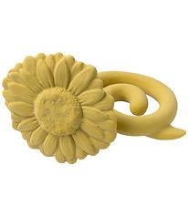 Natruba Teether - Natural Rubber - Sunflower - Yellow