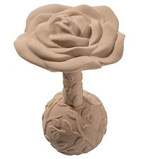 Natruba Teether - Natural Rubber - Rose - Beige