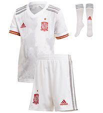 adidas Performance Football Set - Spain - White Marble/Grey