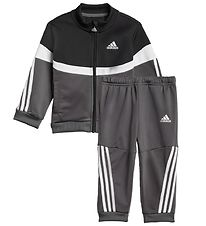 adidas Performance Track Suit - Shniy - Grey/Black