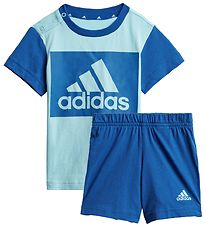 adidas Performance Summer Set - BL - Light Blue/Blue w. Logo