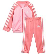 adidas Performance Training Set - 3S - Pink/Rose w. White