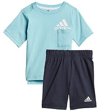 adidas Performance Summer Set - BOS - Turquoise/Navy