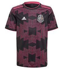 adidas Performance Home Jersey - Mexico - Black w. Pink