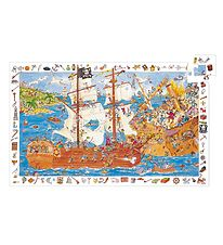 Djeco Puzzle - 100 Pieces - Pirate Ship