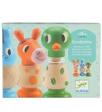 Djeco Wooden Toys - 3 pcs - Screw-Together Animals