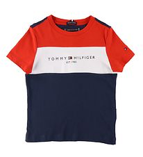 Tommy Hilfiger T-shirt - Navy/Red/White