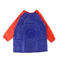 Playbox Painting Apron - 3-5 years - Blue/Red
