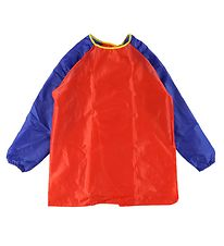 Playbox Painting Apron - 5-8 years - Red/Blue