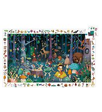 Djeco Puzzle - 100 Pieces - Enchanted Forest