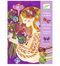 Djeco Glitter Boards - The Scent Of Flowers