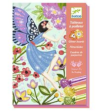 Djeco Glitter Boards - The Gentle Life of Fairies