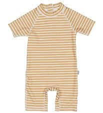 Petit Piao Coverall Swimsuit - UV50 + - Curry/Eggnog