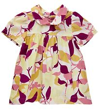 Noah Noah Miniature Dress - Organic Flower Poplin - Rose