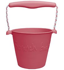 Scrunch Bucket - Silicone - 13 cm - Cherry Red