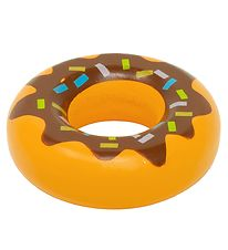 MaMaMeMo Play Food - Wood - Donut w. Brown Glaze