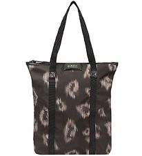 DAY ET Bag - Gweneth Ikat - Tote - Black w. Pattern