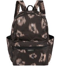 DAY ET Backpack - Gweneth Ikat - Black w. Pattern