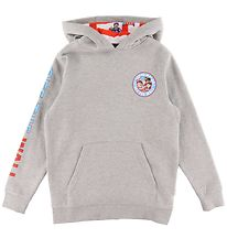 Vans Hoodie - Grey Melange w. Where's Wally