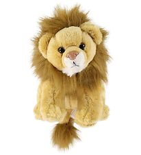 Wild Republic Soft Toy w. Sound - 17x16 cm - Lion