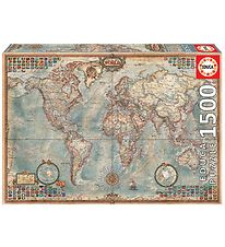 Educa Puzzle - 1500 Pieces - Political Map of the World
