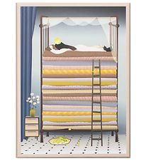 Vissevasse Poster - 50x70 - The Princess And The Pea