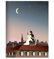 Vissevasse Poster - 50x70 - The Shepherdness And The Chimney Swe