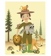 Vissevasse Poster - 50x70 - The Zookeeper