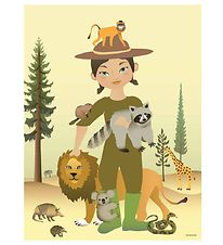 Vissevasse Poster - 30x40 - The Zookeeper
