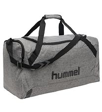 Hummel Sports Bag - Medium - Core - Grey Melange