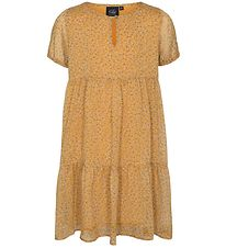 Petit by Sofie Schnoor Dress - Izma - Yellow w. Flowers