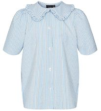 Petit by Sofie Schnoor Shirt - Kenia - Blue/White Striped