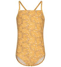 Petit by Sofie Schnoor Swimsuit - Anabella - UV50+ - Yellow w. F