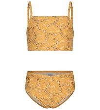 Petit by Sofie Schnoor Bikini - Angelique - UV50+ - Yellow w. Fl