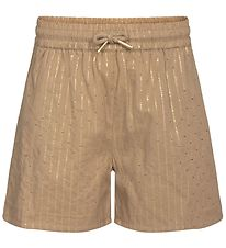 Petit by Sofie Schnoor Shorts - Ria - Brown w. Gold