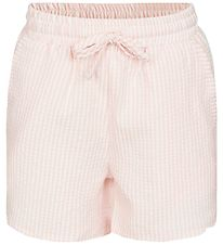 Petit by Sofie Schnoor Shorts - Ria - Rose/White Striped