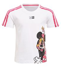 adidas Performance x Disney T-shirt - MM - White/Pink w. Minnie