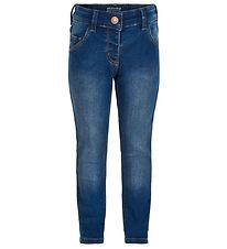 Minymo Pants - Stretch Slim Fit - Blue Denim