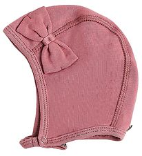 Racing Kids Baby Hat - Dusty Rose w. Bow