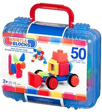 Bristle Blocks Suitcase - 50 pieces - Basic Builder