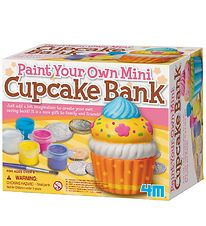 4M Paint Your Own Mini Bank - Cupcake