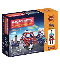 Magformers XL Cruiser Emergency Set - 33 pieces