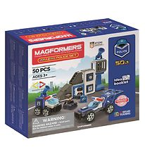 Magformers Amazing Police Set - 50 pieces