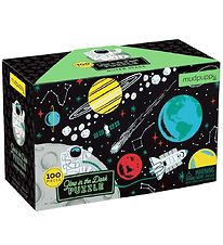 Mudpuppy Glow In The Dark Puzzle - 100 pcs - Outer Space