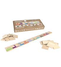 Milaniwood Wooden Game - 2-in-1 World Dominoes